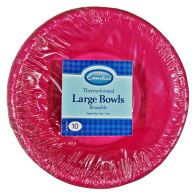 See more information about the Thermoform Large Bowls 17cm (Pack 10)- Pink