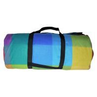 See more information about the Jumbo 3 x 4M Picnic Blanket - Multi-coloured Check Pattern