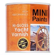 See more information about the Mini Paints Hi-gloss Yacht Varnish 215ml