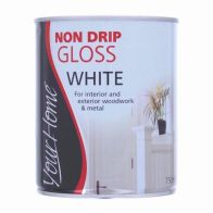 See more information about the Your Home Non Drip Gloss Paint 750ml - White