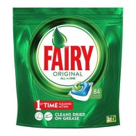 See more information about the 84 All In 1 Fairy Dishwasher Capsules