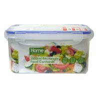 See more information about the 2500ml Rectangle Food Container