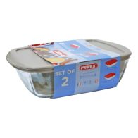 See more information about the Pyrex 2 Piece Candy Storage Set - Beige