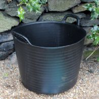 See more information about the Kingfisher Growing 42 Litre Black Rubber Tub with Carry Handles