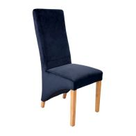 See more information about the Baxter Chair Black Velvet