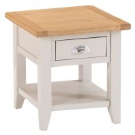 See more information about the Elsing Pine 1 Drawer Lamp Table