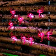 See more information about the Bright Garden 10 Pack Flamingo Solar Lights