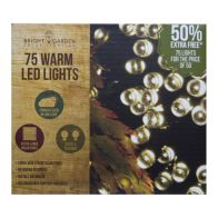 See more information about the Bright Garden 50Pk Warm White Solar Lights +50% Free