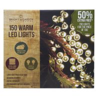 See more information about the Bright Garden 100Pk Warm White Solar Lights +50% Free