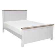 See more information about the Olivia Oak 4ft 6in Double High End Bed