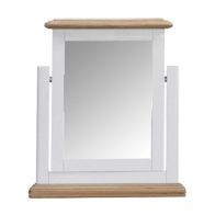 See more information about the Olivia Oak Single Mirror