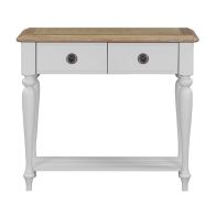 See more information about the Olivia Oak 2 Drawer Console Table