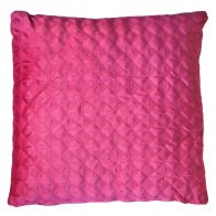 See more information about the Red Dim Out Embroided Velvet Style Cushion 45 x 45cm