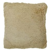 See more information about the Brown Shaggy Faux Fur Cushion 45 x 45cm