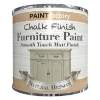 See more information about the Paint Factory Chalk Finish Furniture Matt Paint 250ml - Hessian Beige