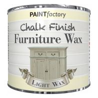 See more information about the Paint Factory Chalk Finish Furniture Wax 200ml - Clear Light Wax