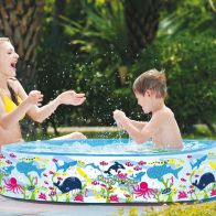 See more information about the Sea World Paddling Pool Rigid Sides 47 x 10inch