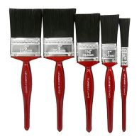 See more information about the 5 Pack Cherry Handle Assorted Paint Brushes