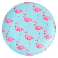 See more information about the Summer Bamboo Plate 19.5cm - Flamingo