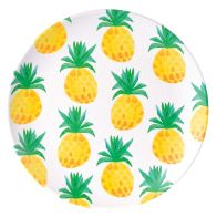 See more information about the Summer Bamboo Flat Plate 19.5cm - Pineapple