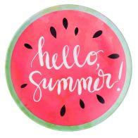 See more information about the Summer Bamboo Flat Plate 24.5 cm - Hello Summer