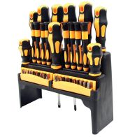 See more information about the Screwdriver Set 37 Pieces with Rack