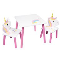 See more information about the Unicorn Table & 2 Chairs Set