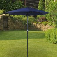 See more information about the Bentley 2M Blue Garden Crank Parasol