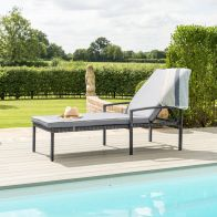 See more information about the Austin Garden Sunlounger Grey