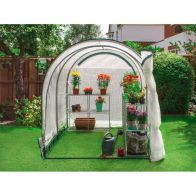 See more information about the Jumpking Garden Grow Your Own 6 x 8ft Greenhouse