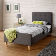 See more information about the Ashbourne Single 3ft Bedstead Grey