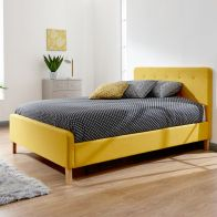 See more information about the Ashbourne 4ft 6in Double Bed Frame Mustard