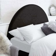 See more information about the Bakewell Black 5ft King Size Bed Headboard