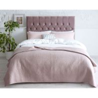 See more information about the Catherine Lansfield Velvet Pink 3ft Single Bed Frame