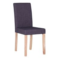 See more information about the Lancelot Straight Back Dining Chair Grey