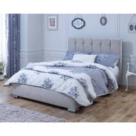 See more information about the Lansfield Canterbury Classic Pine Silver 4ft 6in Double Bed Frame