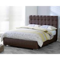 See more information about the Lansfield Gatsby Classic Pine Brown 4ft 6in Double Bed Frame