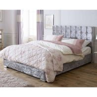 See more information about the Lansfield Gatsby Classic Pine Silver 4ft 6in Double Bed Frame
