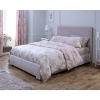 See more information about the Lansfield Heritage Classic Pine Pink 4ft 6in Double Bed Frame