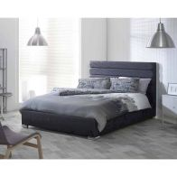 See more information about the Lansfield Scandi Classic Pine Black 4ft 6in Double Bed Frame