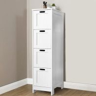 See more information about the Colonial White 4 Drawer Slim Chest