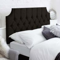 See more information about the Castleton Black 5ft King Size Bed Headboard