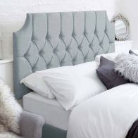 See more information about the Castleton Blue 5ft King Size Bed Headboard