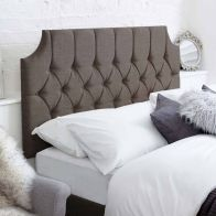 See more information about the Castleton Grey 5ft King Size Bed Headboard