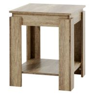 See more information about the Canyon Oak Finish Lamp Table
