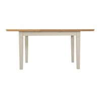 See more information about the Country Cottage Oak 1.25m - 1.65m Extending Dining Table