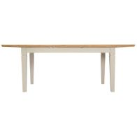 See more information about the Country Cottage Oak 1.6m - 2.1m Extending Dining Table