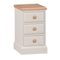See more information about the Country Cottage Oak 3 Drawer Chest