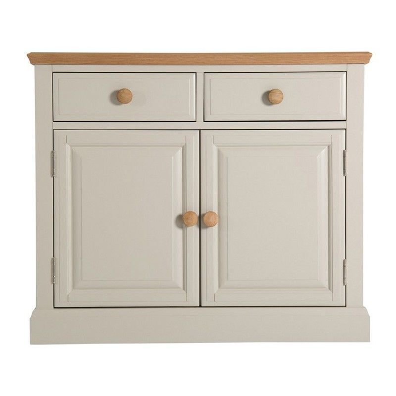 e8c380f6f9 Country Cottage Oak 2 Drawer 2 Door Sideboard - Buy Online at QD Stores