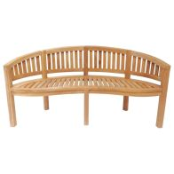 See more information about the San Diego Solid Wooden 3 Seater Garden Bench Seat 5.2ft